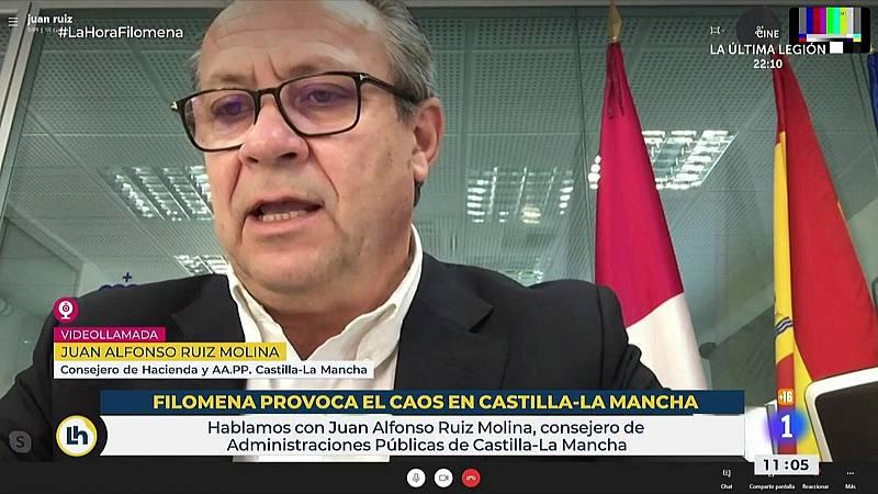Juan Alfonso Ruiz Molina, consejero de Administraciones Públicas de Castilla-La Mancha: ¿No hemos valorado declarar ninguna zona como catastrófica¿