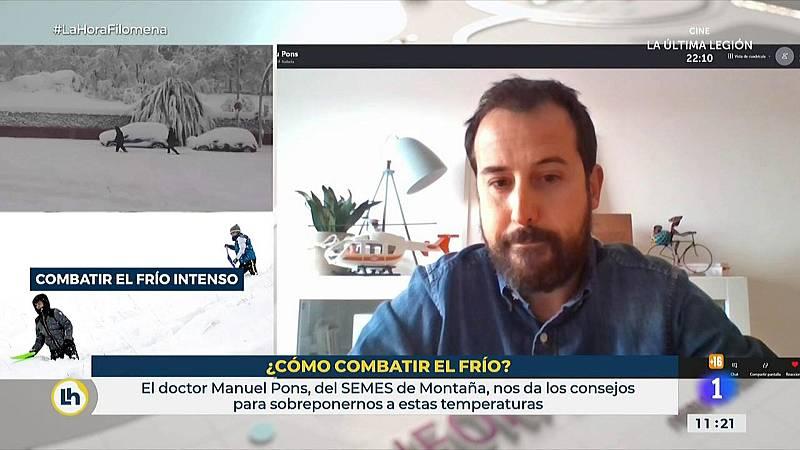 Manuel Pons, médico del SEMES de montaña nos da las claves para protegernos del frío