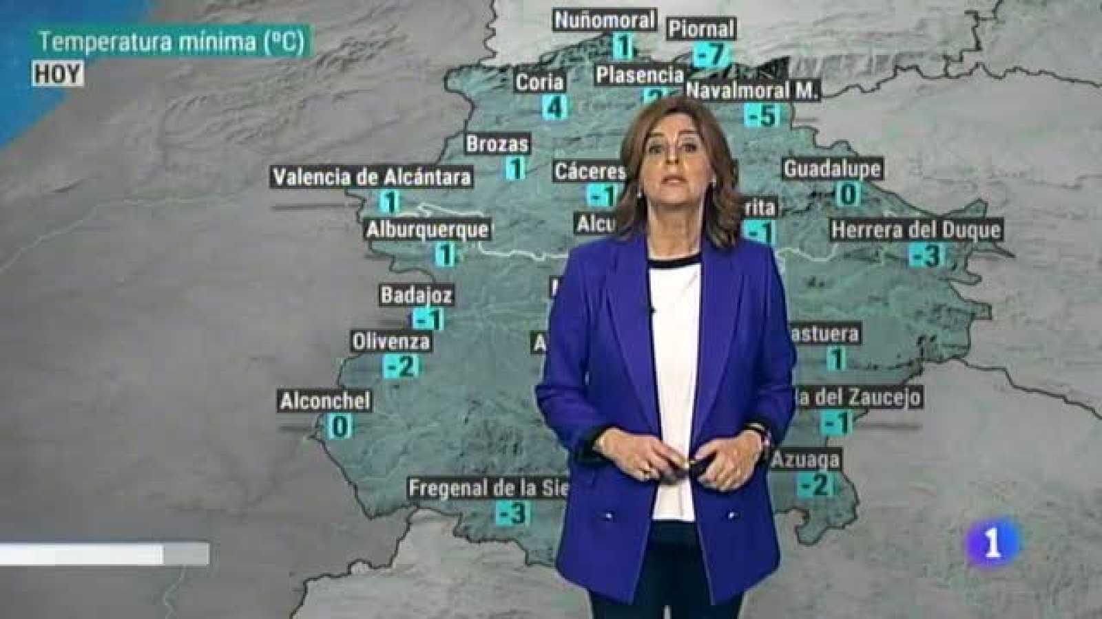 El tiempo en Extremadura - 11/01/2021