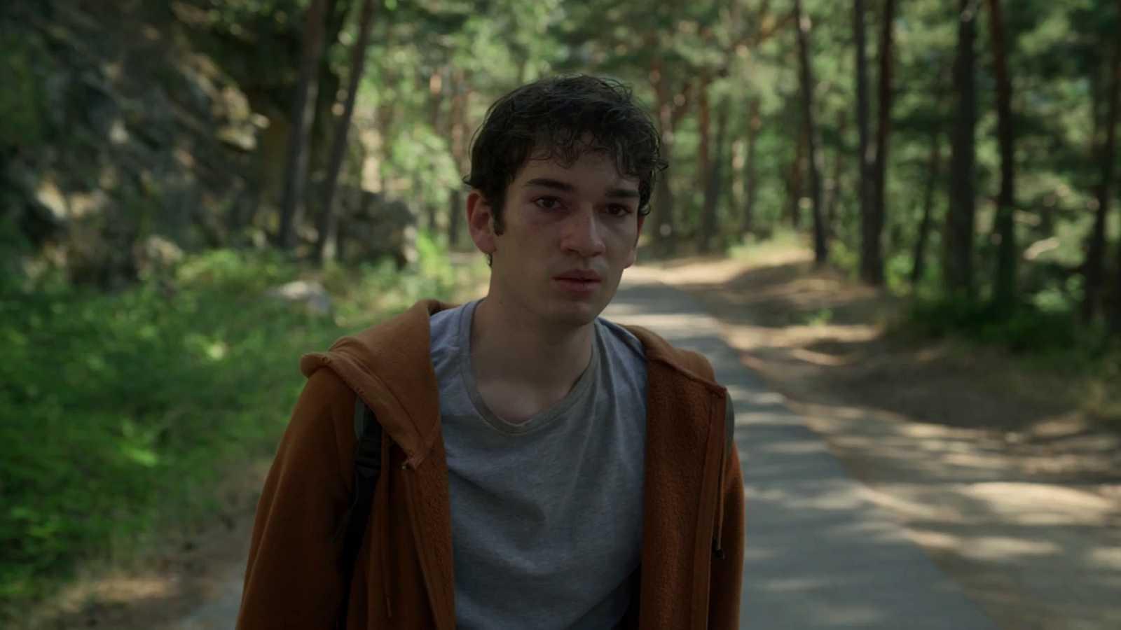 La caza. Tramuntana - Gerard encuentra a Dani en el bosque