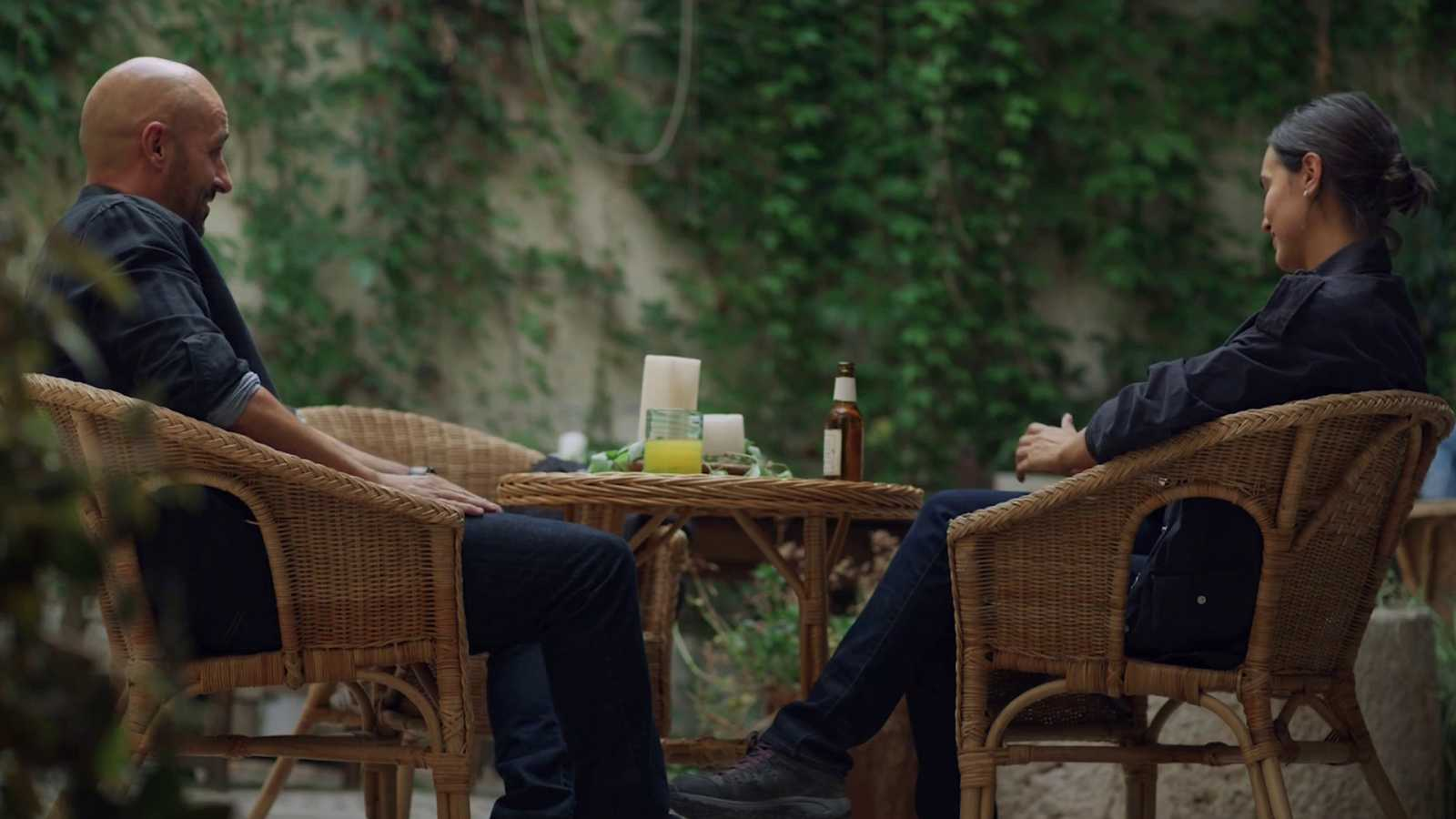 La caza. Tramuntana - Sara y Víctor hablan sobre su relación