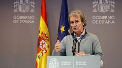 Especial informativo - Coronavirus. Comparecencia de Fernando Simón - 11/01/21