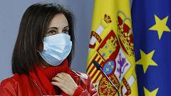 """Margarita Robles, sobre el temporal: """"No es aceptable que se haga una finalidad política"""""""