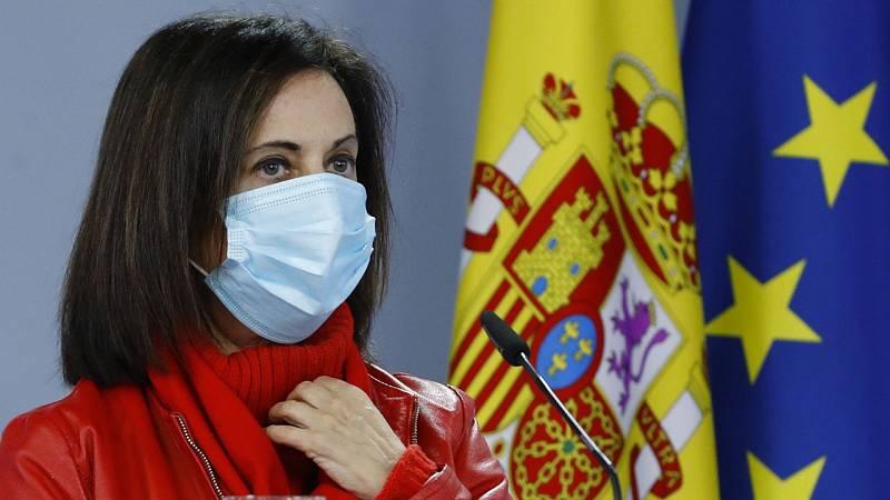 """Margarita Robles sobre el temporal: """"No es aceptable que se haga una finalidad política"""""""