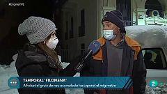 En Línia - Les conseqüències del temporal Filomena a Catalunya