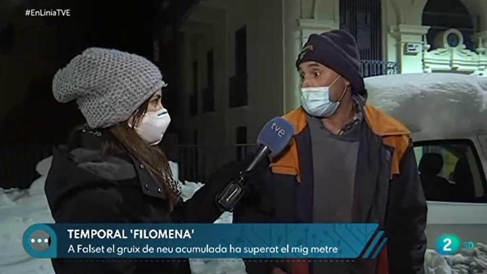 A En Línia parlem de les conseqüències del temporal Filomena a Catalunya