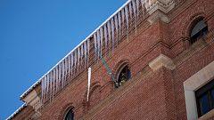 La nieve y el hielo que ha dejado Filomena en Teruel