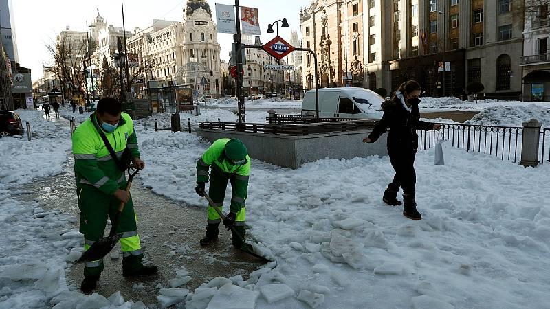 El Gobierno no descarta declarar Madrid zona castastrófica cuando evalúe los daños