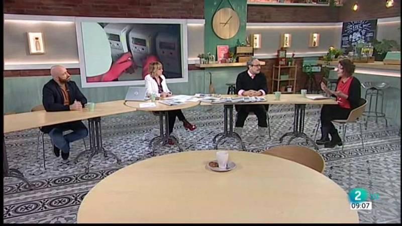 Lorena Roldán, pobresa energètica i Emilio Morenatti