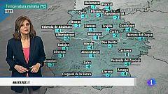 El tiempo en Extremadura - 12/01/2021