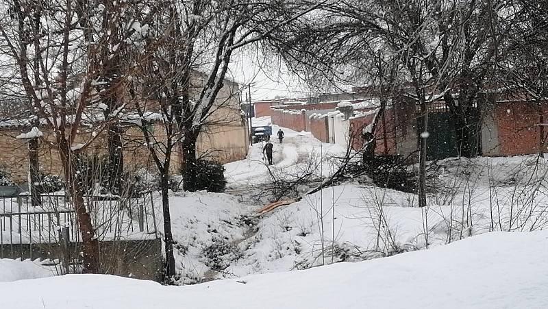 Más de 60 horas sin luz en un pueblo de Toledo por el temporal
