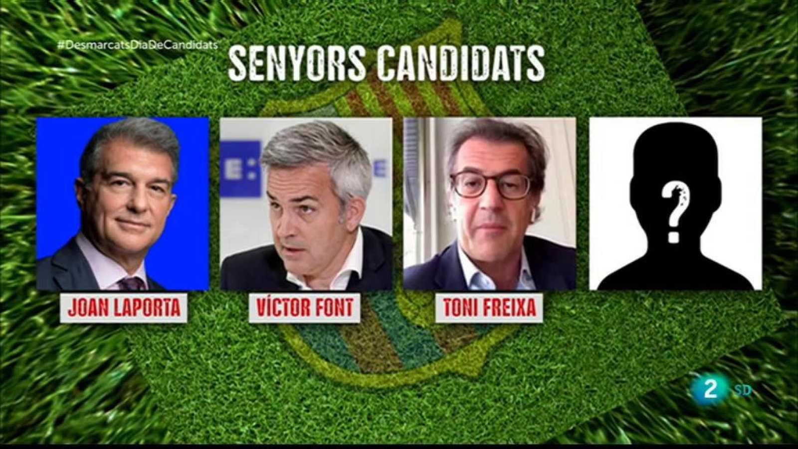 Desmarcats - Tertúlia Esportiva. Dia de candidats a presidir el Barça
