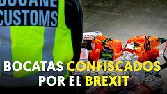 Paises Bajos requisa bocadillos a camioneros en la frontera por el Brexit