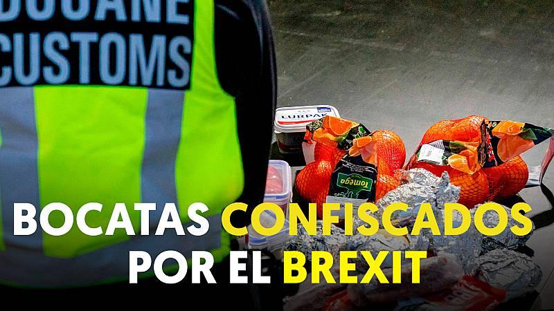 Holanda requisa bocadillos a camioneros en la frontera por el Brexit