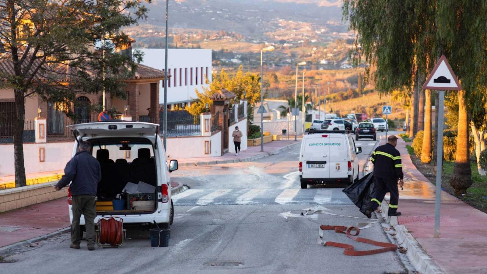 Primer caso de violencia de género de 2021 en España: dos mujeres heridas graves en Málaga