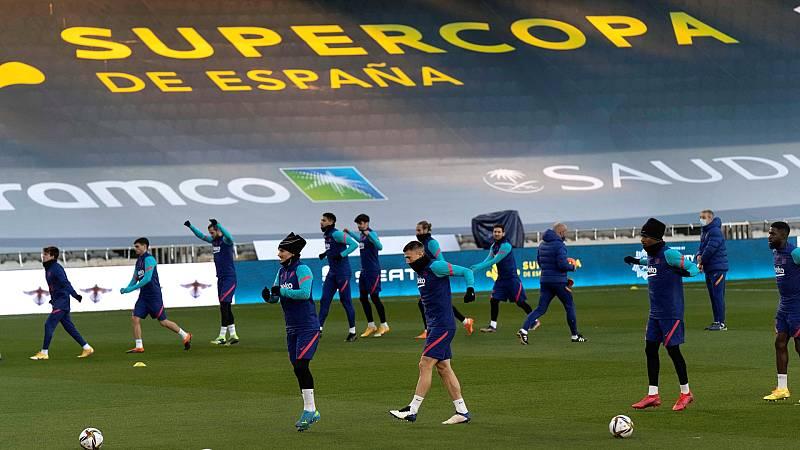 Un Barça recuperado de moral ya está en Córdoba para enfrenarse a la Real Sociedad