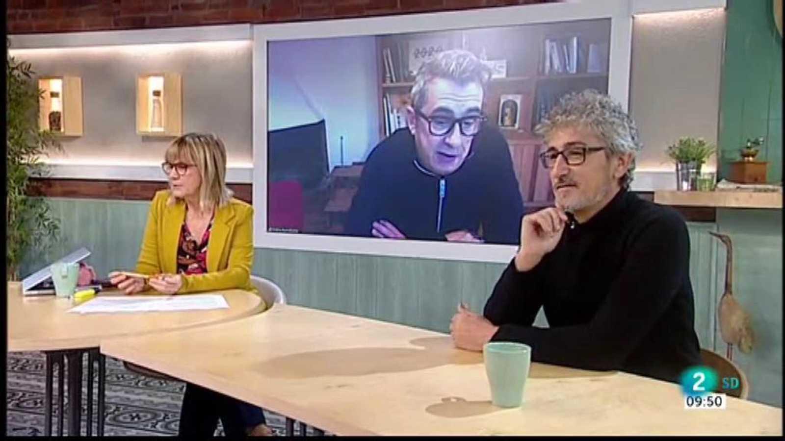 Gemma Nierga entrevista Andreu Buenafuente i David Fernández