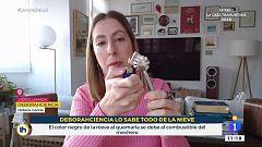 Deborah Ciencia desmiente el vídeo de la 'nieve de plástico'