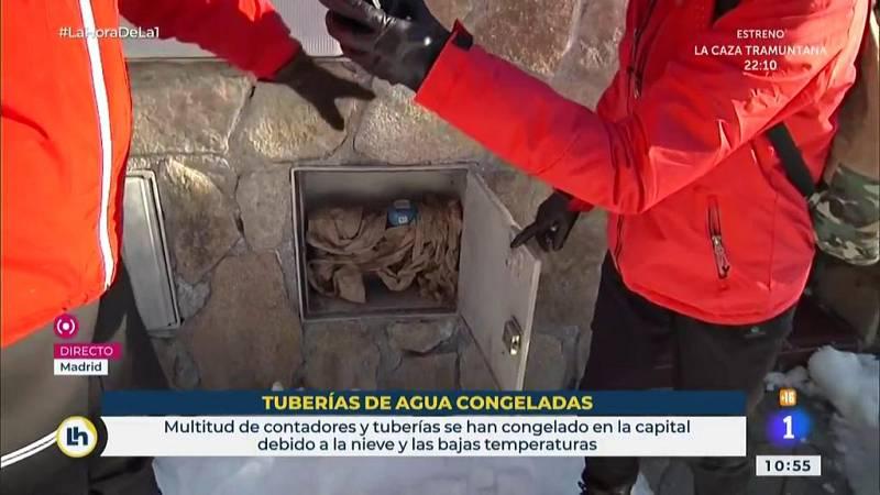 La Hora - Te explicamos lo que hay que hacer si se congelan las tuberías