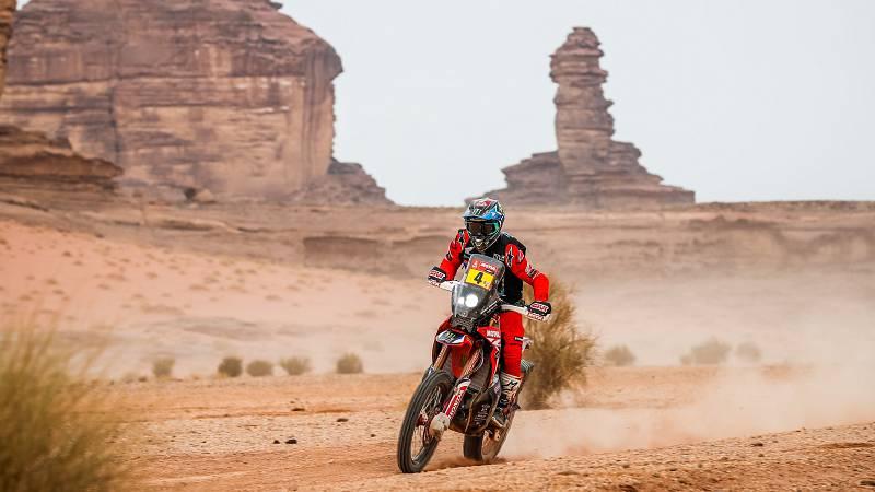 Cornejo abandona el Dakar por una caída y Barreda vuelve a la pelea