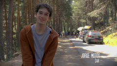 Jorge Motos interpreta a Daniel Coll en 'La caza. Tramuntana'