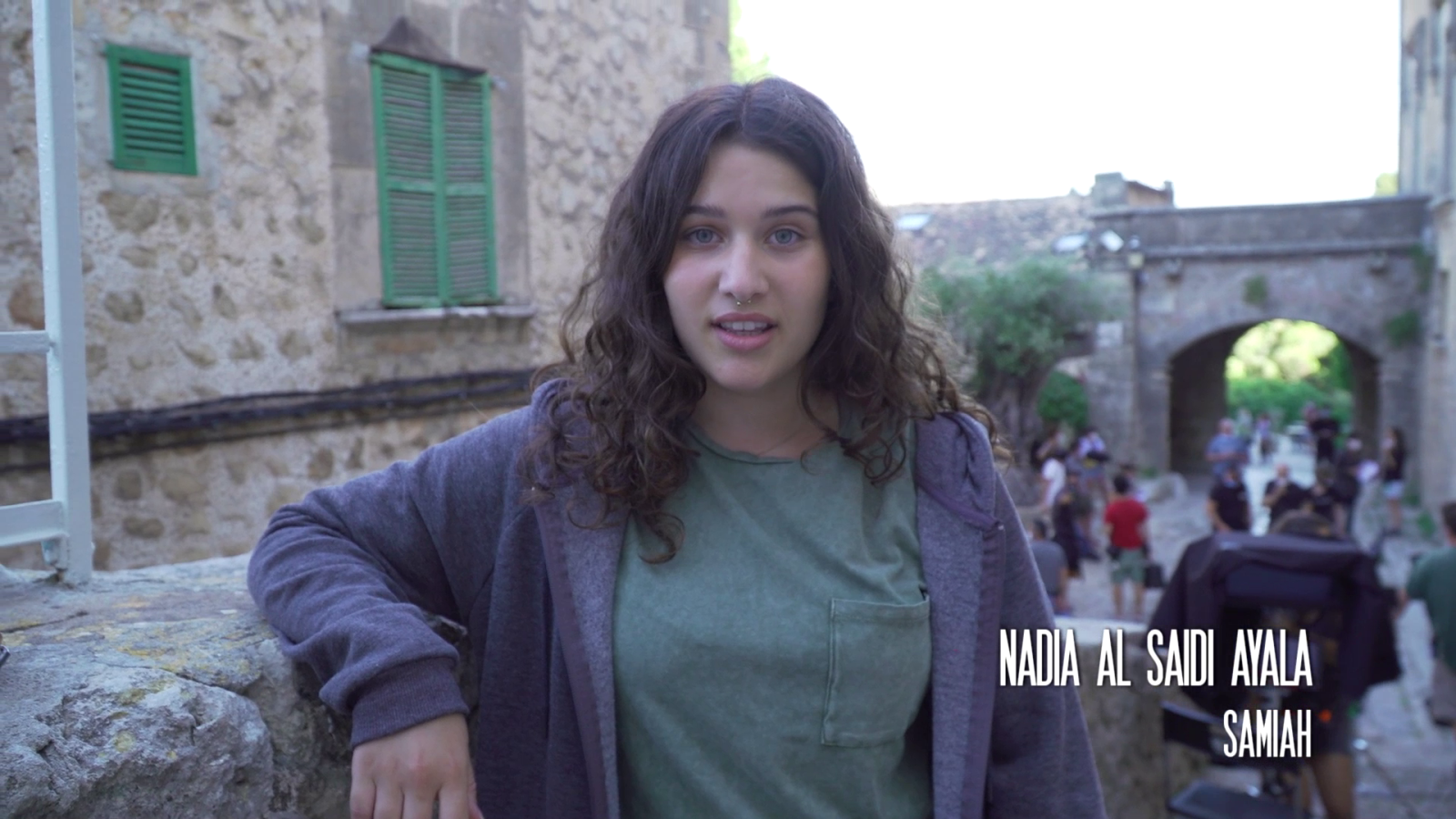Nadia Al-Saidi interpreta a Samiah Chrérif en 'La caza. Tramuntana'