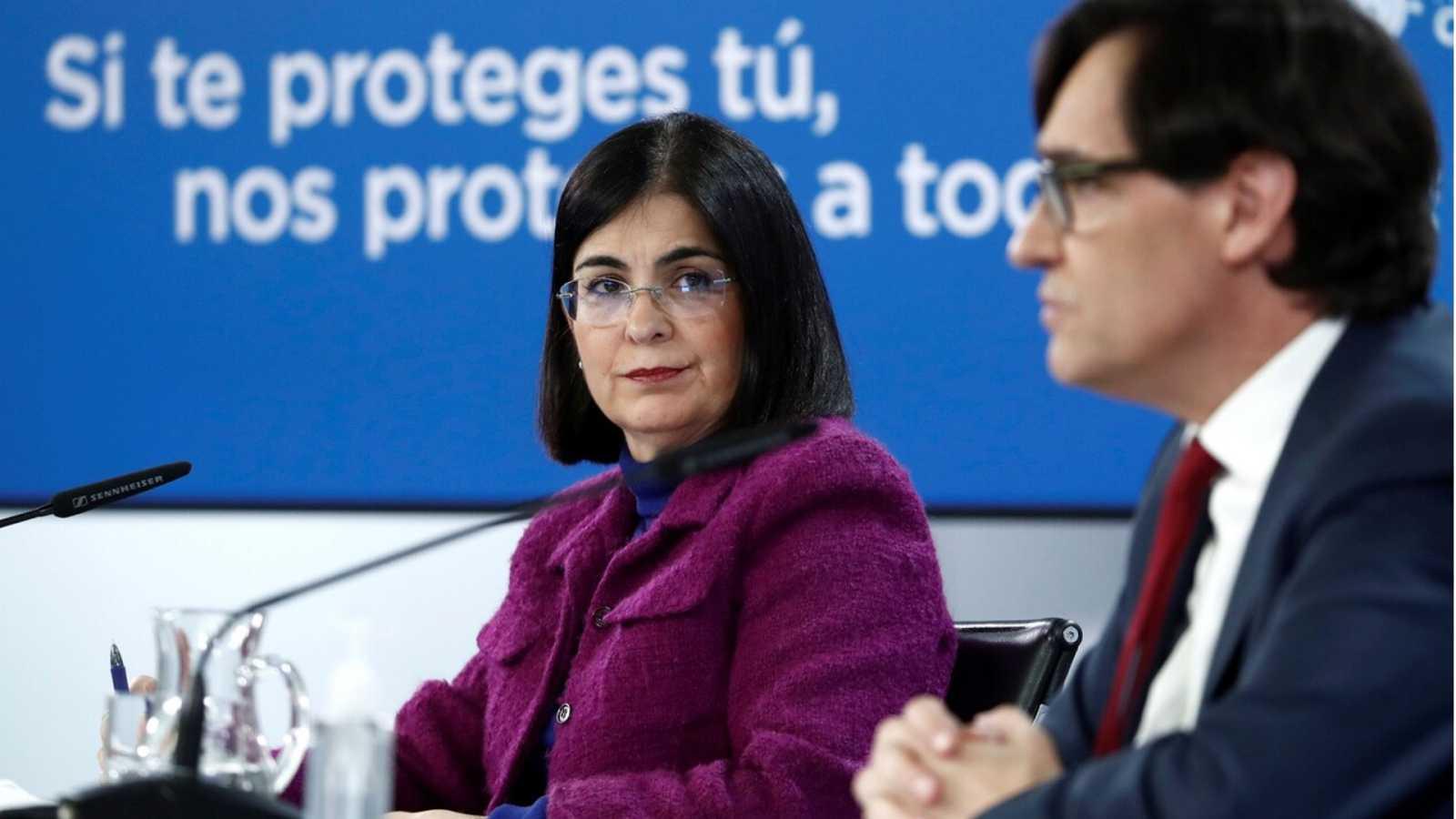 Especial informativo - Comparecencia del ministro de Sanidad, y ministra de Política Territorial - 13/01/21 - ver ahora