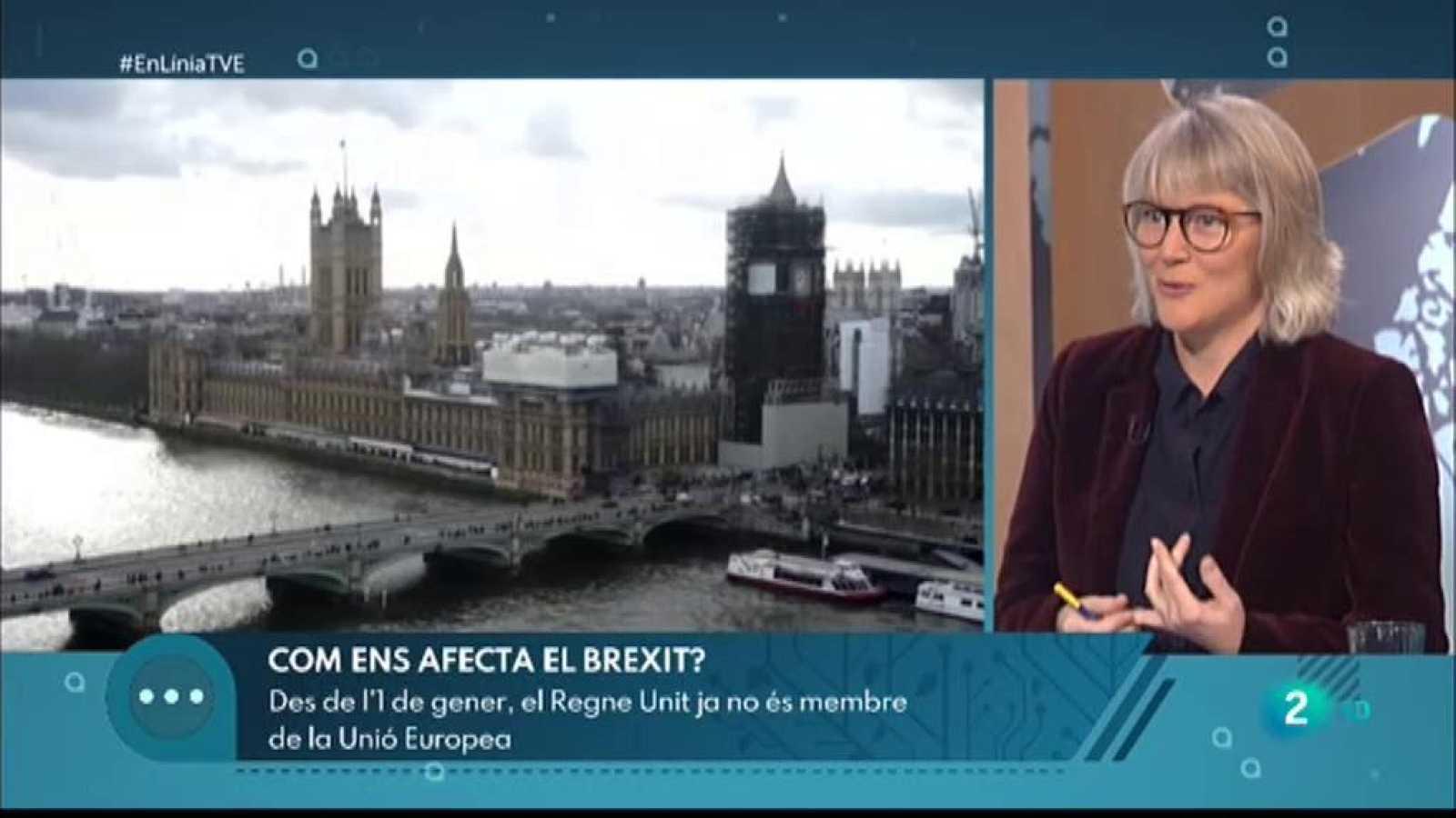 A En Línia ens preguntem com afectarà el Brexit a la nostra economia