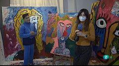 En Línia - Juanito Cortés, pintor abstracte de renom als 11 anys