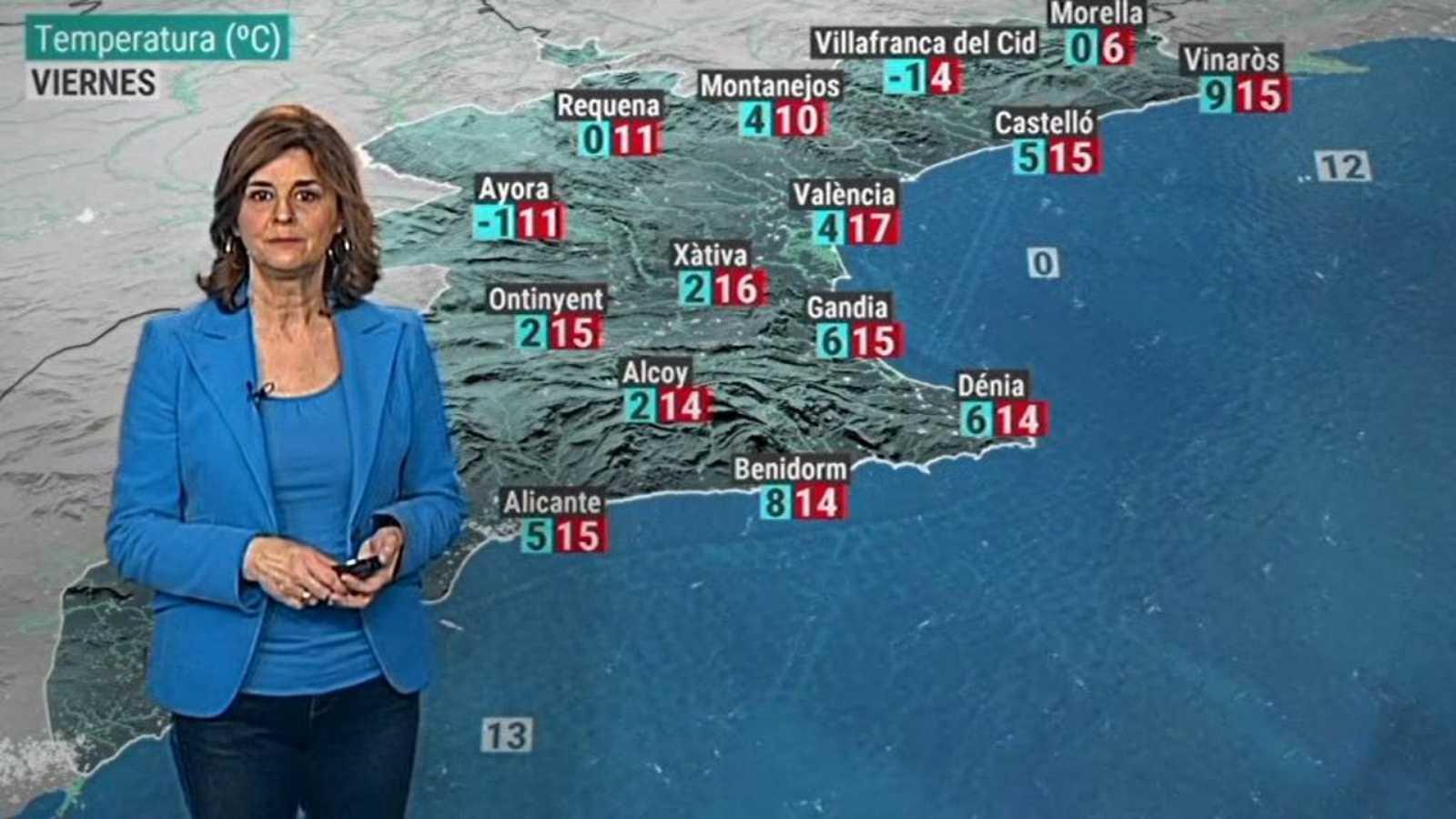 El tiempo en la Comunidad Valenciana - 14/01/21 - ver ahora