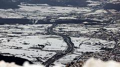 Heladas en la meseta Norte, Castilla-La Mancha, sistema Ibérico y Pirineos