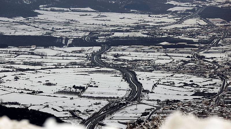 Heladas en la meseta Norte, Castilla-La Mancha, sistema Ibérico y Pirineos - Ver ahora