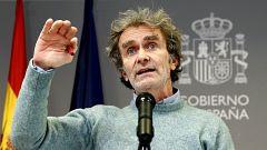 Especial informativo - Coronavirus. Comparecencia de Fernando Simón - 14/01/21