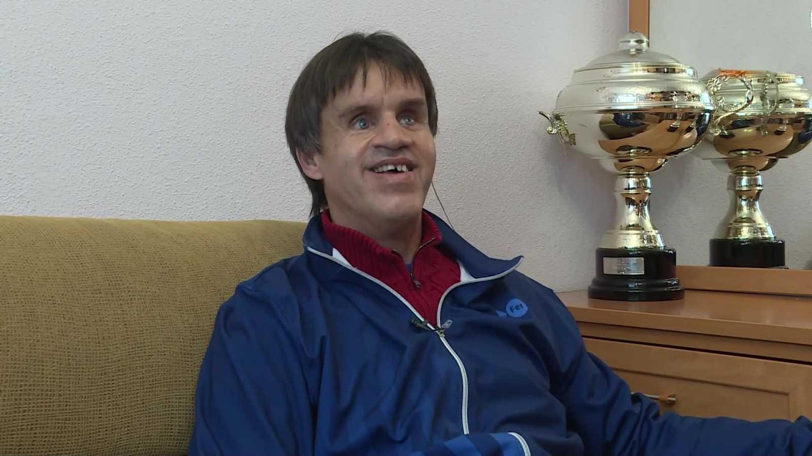 Objetivo Tokio - Programa 126: Paralímpicos - Vicente Aguilar, jugador de la selección española de fútbol de ciegos - ver ahora