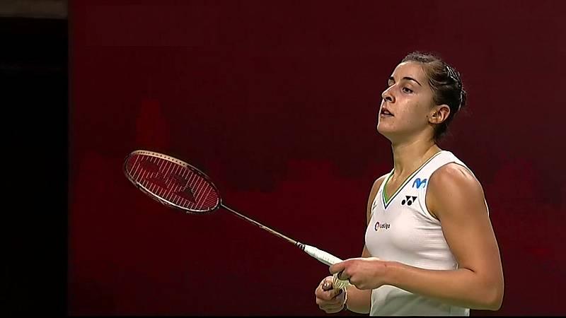 Bádminton - Open Thailandia. 1/4 final: C. Marín - S. Katethong - ver ahora