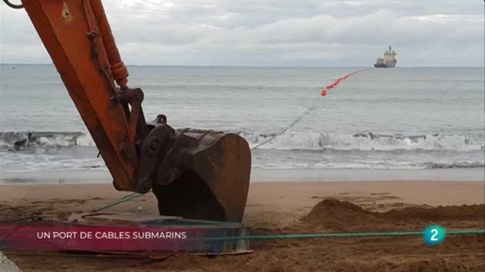 Port cables submarins, Reconnecta't, sense pantalles i Abelles, essencials  per la vida a La Metro
