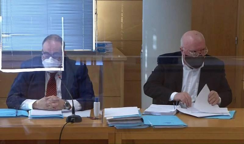 Villarejo y Corinna Larsen cargan contra el exdirector del CNI en el primer juicio contra el excomisario