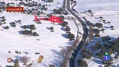 España Directo - Una ayuda primordial: alimentando al ganado con helicóptero