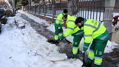 """Villacís: """"Ahora mismo hay unas 4.000 personas trabajando en retirar la nieve"""" de las calles de Madrid"""