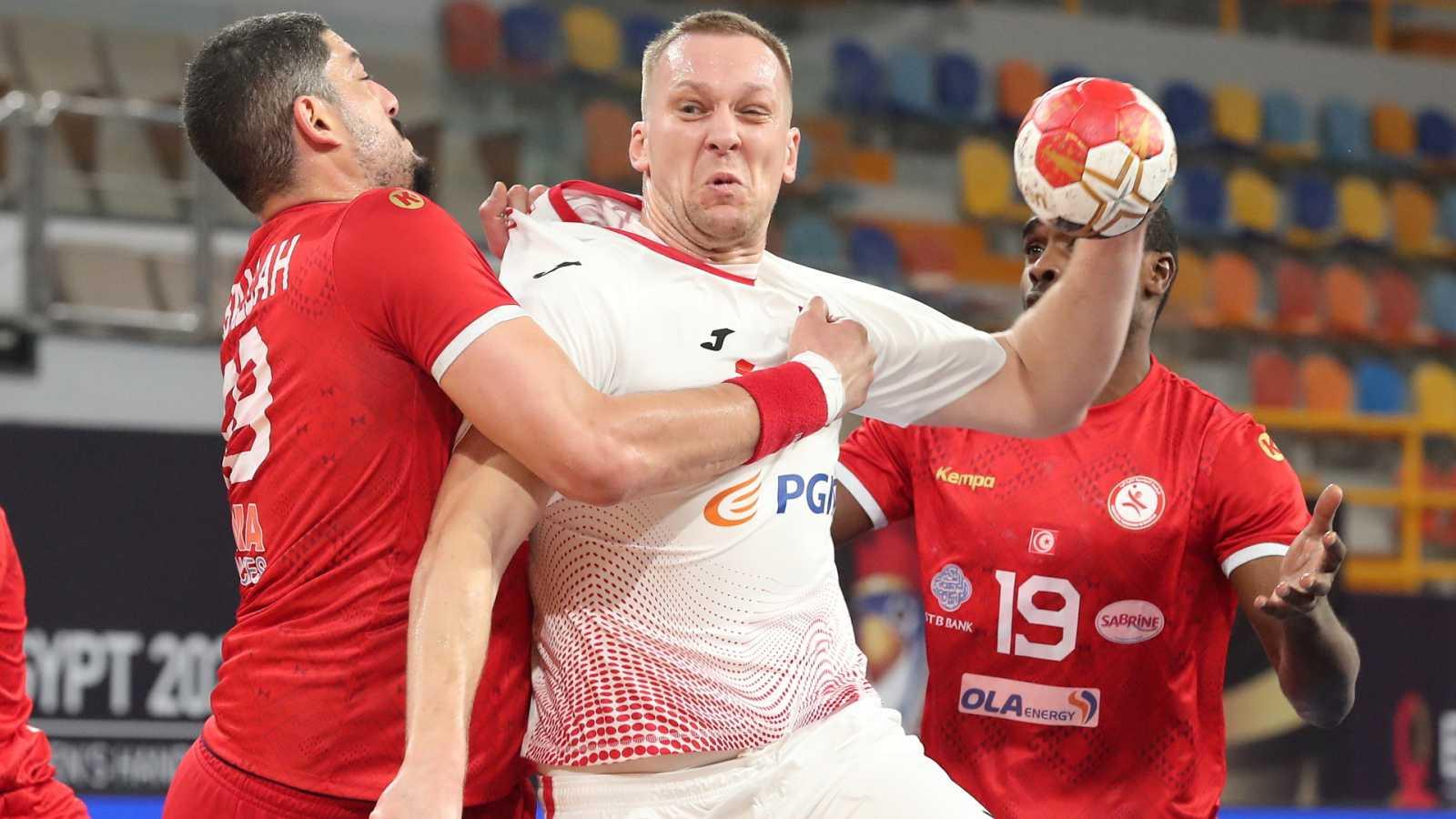 Balonmano - Campeonato del Mundo masculino: Túnez - Polonia - ver ahora
