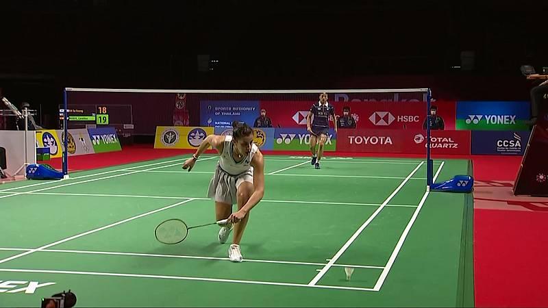 Bádminton - Open Thailandia. Semifinal femenina: An Ye Young - Carolina Marín  - ver ahora