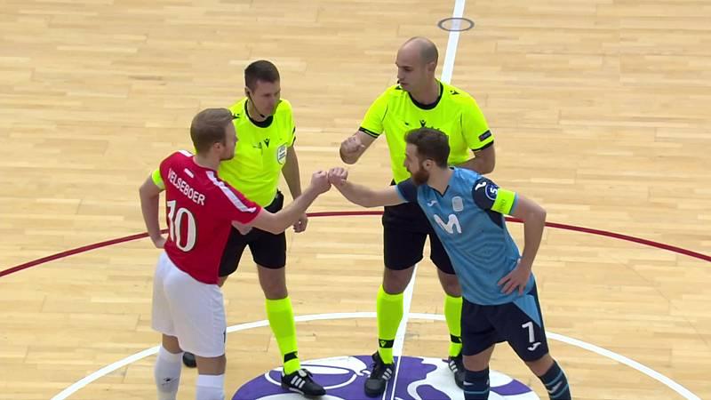 Fútbol Sala - UEFA Champions League. 1/16 ida: Movistar Inter FS - Hovocubo - ver ahora