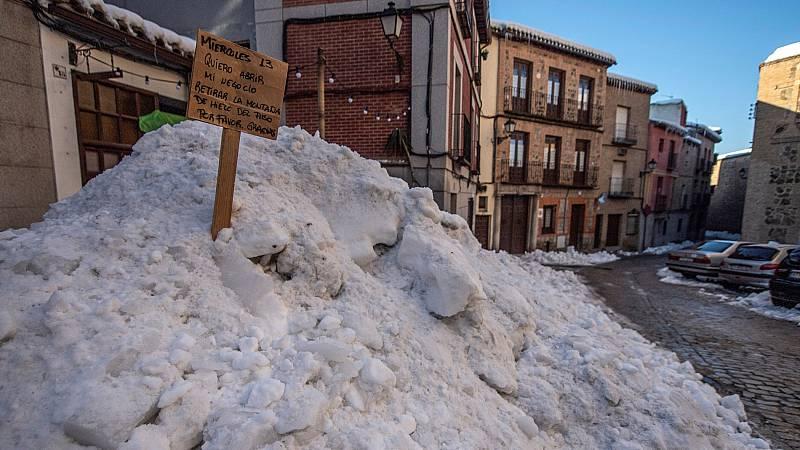 Los colegios de Toledo siguen cerrados por el temporal y deciden si reanudan las clases de manera presencial