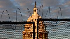 Un equipo de TVE accede al Capitolio de EE.UU. tras el asalto sufrido la pasada semana