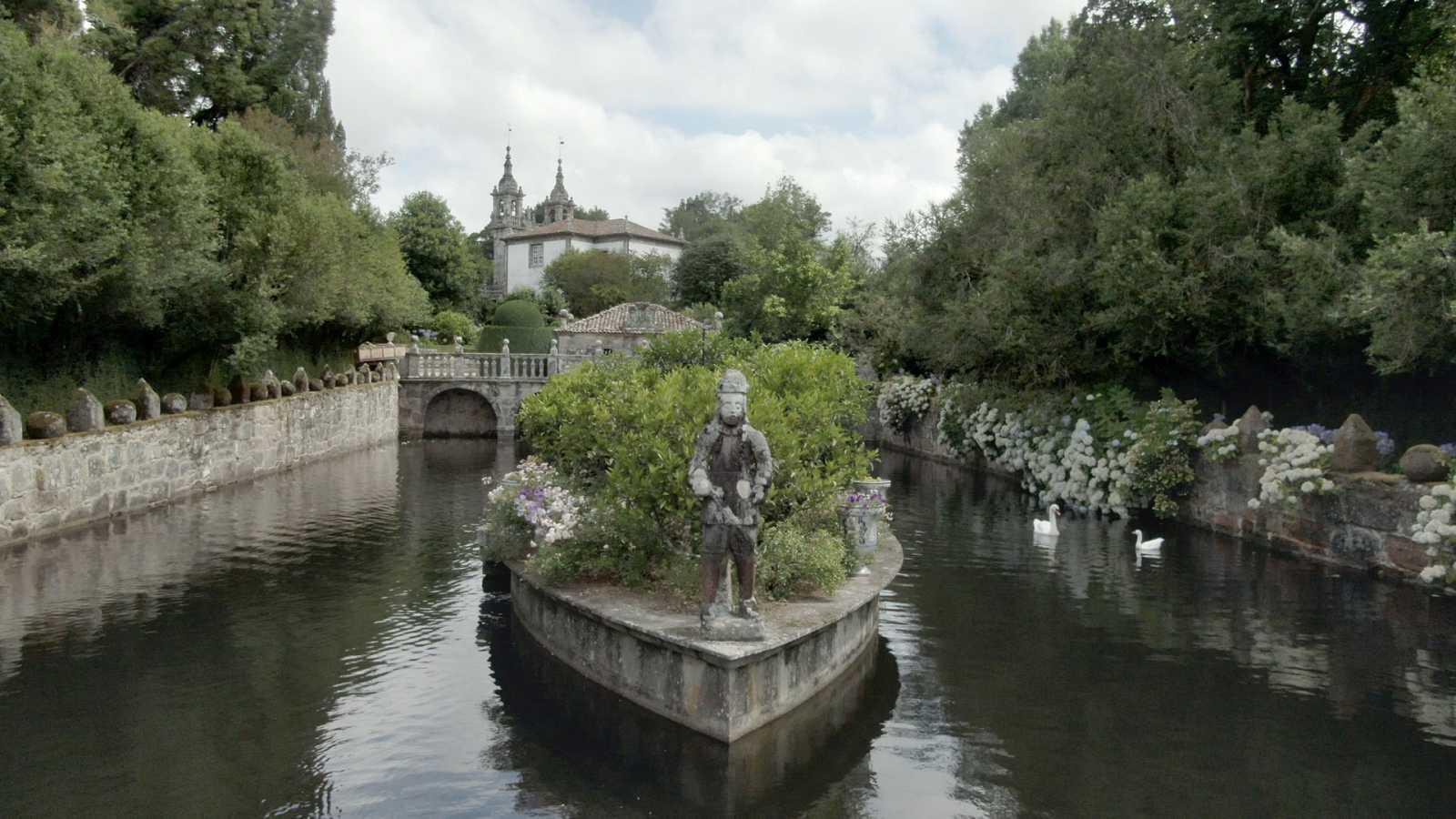Jardines con historia - Galicia: pazos de Oca y Santa Cruz de Rivadulla - ver ahora