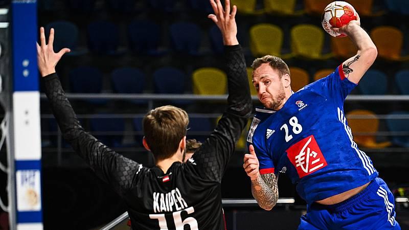 Balonmano - Campeonato del Mundo masculino: Austria - Francia - ver ahora