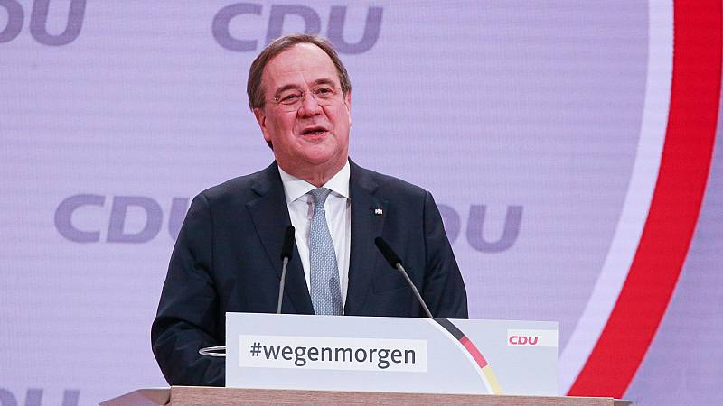 El centrista Armin Laschet, nuevo líder de la CDU de Merkel