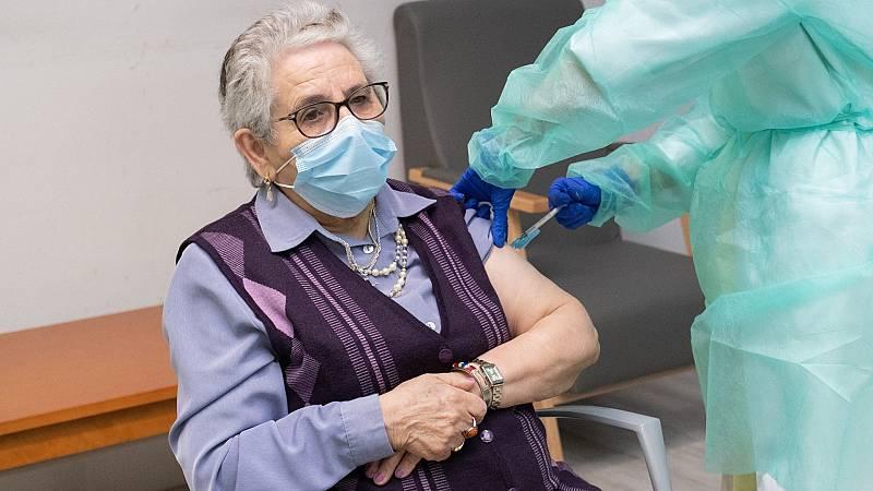 Comienza a administrarse la segunda dosis de la vacuna