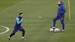 Messi, duda para la Supercopa hasta última hora