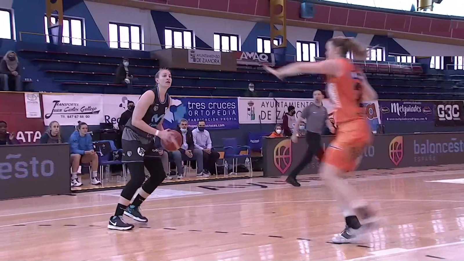 Baloncesto - Liga femenina Endesa. 21ª jornada: Quesos El Pastor - Movistar Estudiantes - ver ahora
